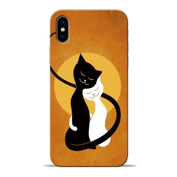 pretty nice 61db8 a5ad5 Kitty Cat Apple iPhone X Mobile Cover