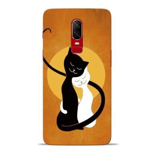 Kitty Cat Oneplus 6 Mobile Cover