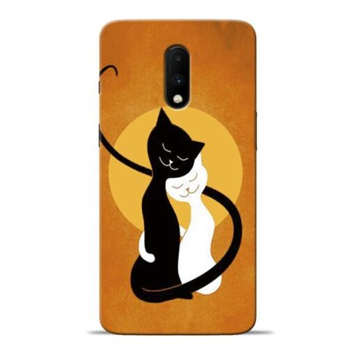 Kitty Cat Oneplus 7 Mobile Cover