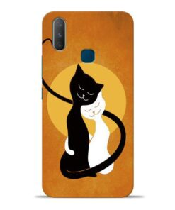 Kitty Cat Vivo Y17 Mobile Cover
