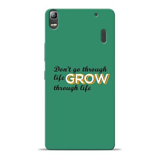 Life Grow Lenovo K3 Note Mobile Cover