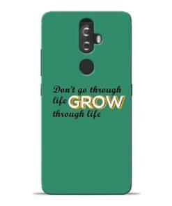 Life Grow Lenovo K8 Plus Mobile Cover