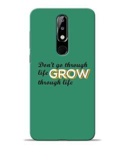 Life Grow Nokia 5.1 Plus Mobile Cover