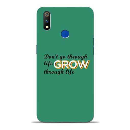 Life Grow Oppo Realme 3 Pro Mobile Cover