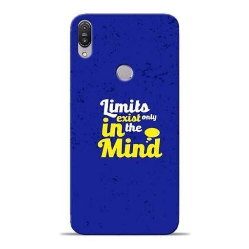 Limits Exist Asus Zenfone Max Pro M1 Mobile Cover