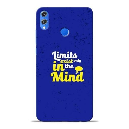 Limits Exist Honor 8X Mobile Cover
