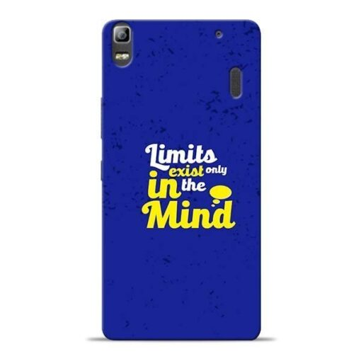 Limits Exist Lenovo K3 Note Mobile Cover