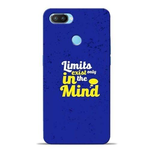 Limits Exist Oppo Realme 2 Pro Mobile Cover