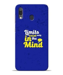 Limits Exist Samsung A30 Mobile Cover