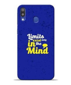 Limits Exist Samsung M20 Mobile Cover