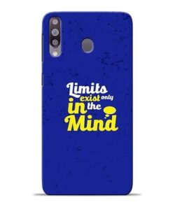 Limits Exist Samsung M30 Mobile Cover