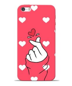 Little Heart Apple iPhone 5s Mobile Cover
