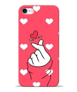 Little Heart Apple iPhone 8 Mobile Cover