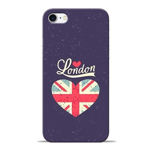London Apple iPhone 8 Mobile Cover