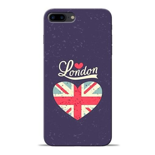 London Apple iPhone 8 Plus Mobile Cover