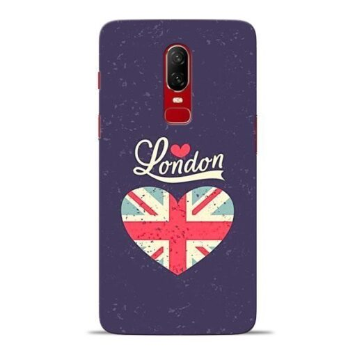 London Oneplus 6 Mobile Cover