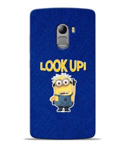 Look Up Minion Lenovo K4 Note Mobile Cover