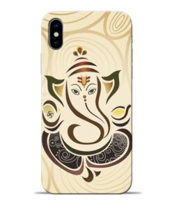 Lord Ganesha Apple iPhone X Mobile Cover
