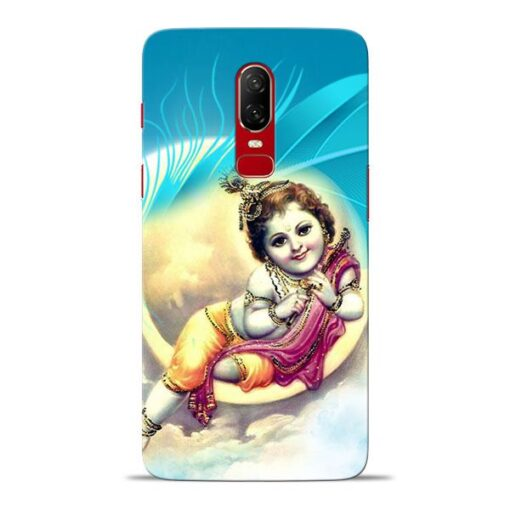Lord Krishna Oneplus 6 Mobile Cover