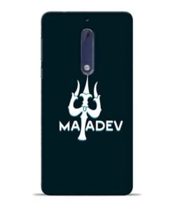 Lord Mahadev Nokia 5 Mobile Cover