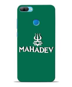 Lord Shiva Trishul Honor 9N Mobile Cover