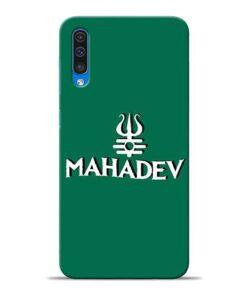 Lord Shiva Trishul Samsung A50 Mobile Cover
