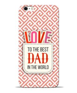 Love Dad Apple iPhone 6 Mobile Cover