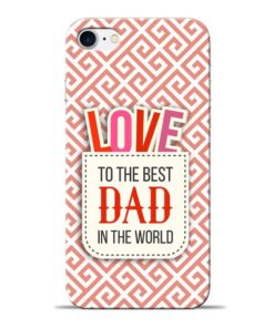 Love Dad Apple iPhone 7 Mobile Cover