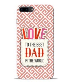 Love Dad Apple iPhone 7 Plus Mobile Cover
