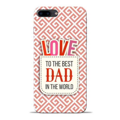 Love Dad Apple iPhone 8 Plus Mobile Cover