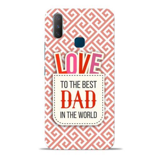 Love Dad Vivo Y17 Mobile Cover
