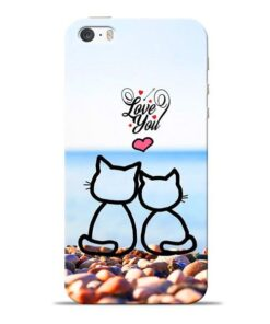 Love You Apple iPhone 5s Mobile Cover