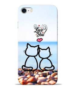 Love You Apple iPhone 7 Mobile Cover
