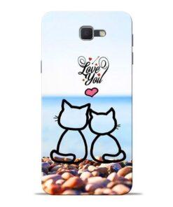 Love You Samsung J7 Prime Mobile Cover