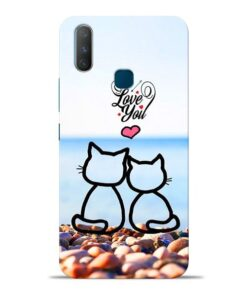 Love You Vivo Y17 Mobile Cover