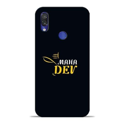 Mahadev Eyes Xiaomi Redmi Note 7 Pro Mobile Cover