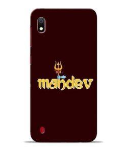 Mahadev Trishul Samsung A10 Mobile Cover