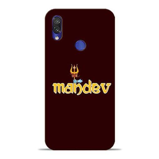 Mahadev Trishul Xiaomi Redmi Note 7 Pro Mobile Cover