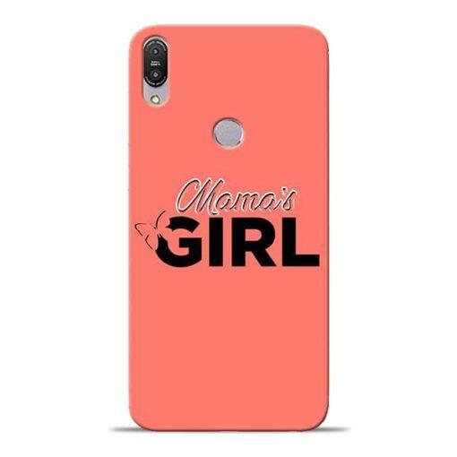 Mama Girl Asus Zenfone Max Pro M1 Mobile Cover