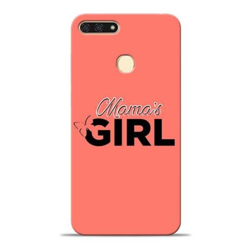 Mama Girl Honor 7A Mobile Cover