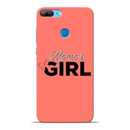 Mama Girl Honor 9 Lite Mobile Cover