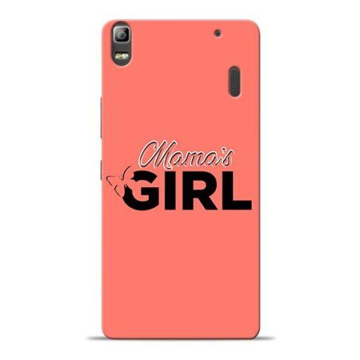 Mama Girl Lenovo K3 Note Mobile Cover