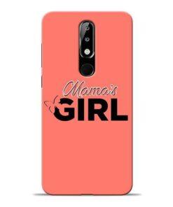 Mama Girl Nokia 5.1 Plus Mobile Cover