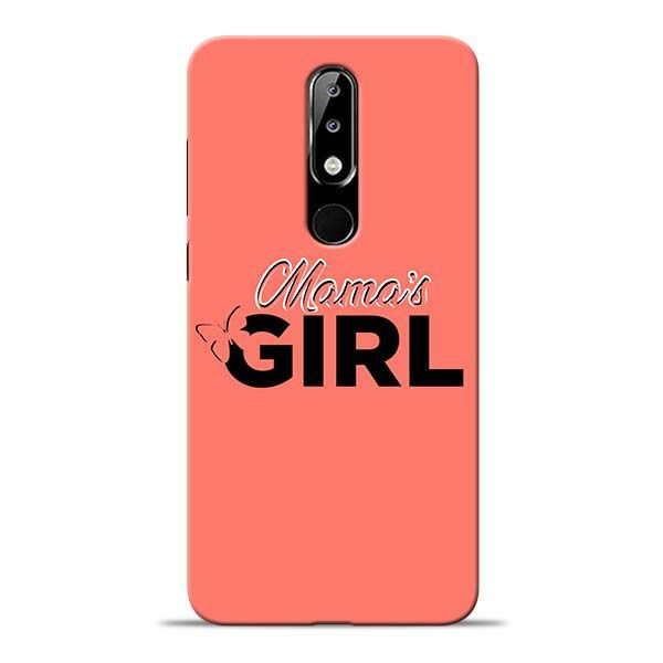 various colors 57918 fd837 Mama Girl Nokia 5.1 Plus Mobile Cover