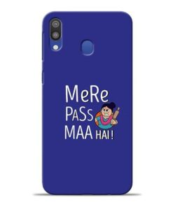 Mere Paas Maa Samsung M20 Mobile Cover