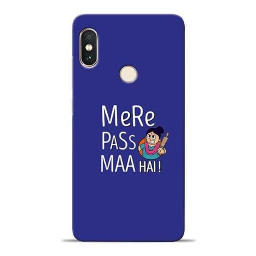 Mere Paas Maa Xiaomi Redmi Note 5 Pro Mobile Cover