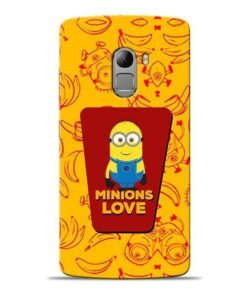 Minions Love Lenovo K4 Note Mobile Cover