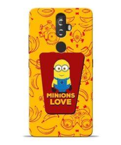 Minions Love Lenovo K8 Plus Mobile Cover