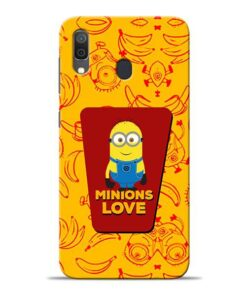 Minions Love Samsung A30 Mobile Cover