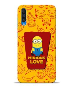 Minions Love Samsung A50 Mobile Cover
